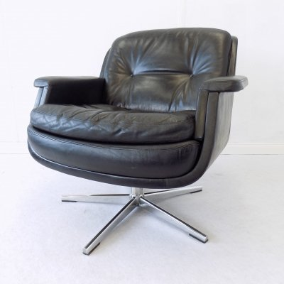 Eugen Schmidt Lounge Chair from Krupp Boardroom