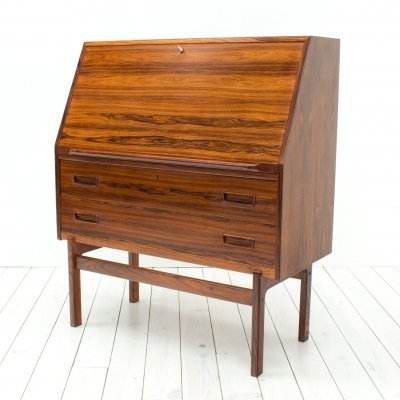 Danish Rosewood Model 68 Bureau by Arne Wahl Iversen for Vinde, 1960