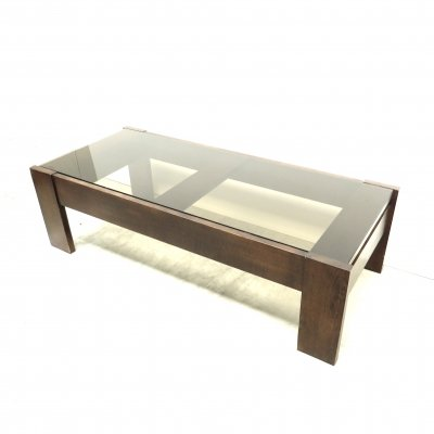Vintage coffee table by Leolux, 1960s