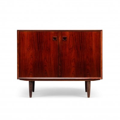Two-door rosewood sideboard by E. Brouer for Brouer Møbelfabrik
