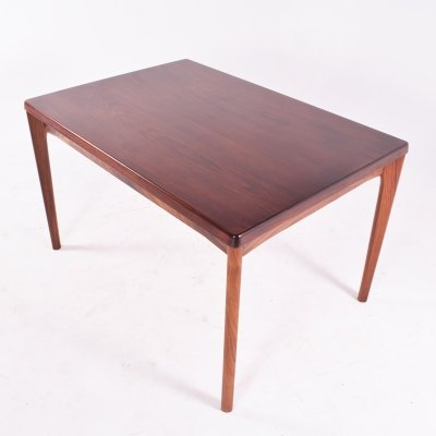 Mid Century Danish Rosewood Dining Table by Henning Kjaernulf