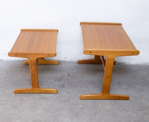 Set of two Danish Teak Side Tables