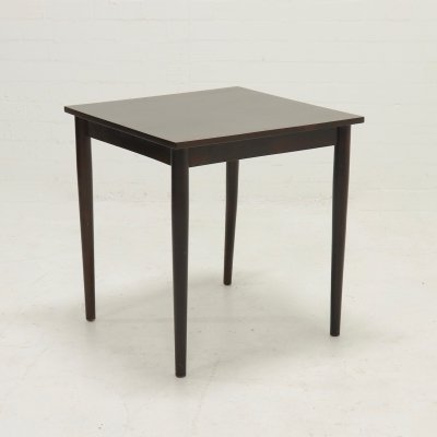 Vintage Square Walnut Dining table, 1960s