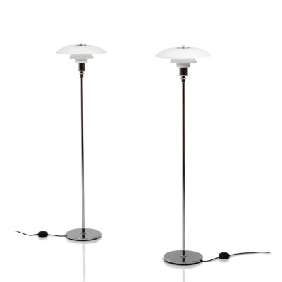 Pair of Louis Poulsen PH 3.5-2.5 Floorlamps, 1970s