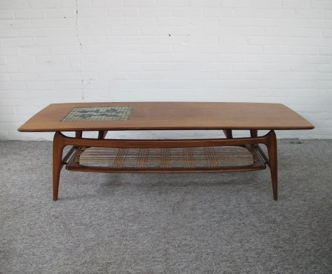 Coffee table by Louis van Teeffelen for Wébé, 1950's