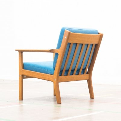 GE-265 lounge chair by Hans Wegner for Getama, 1970s