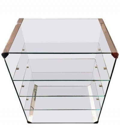 Pierangelo Gallotti for Gallotti & Radice Space Age Italian Stereo Rack, 1980s