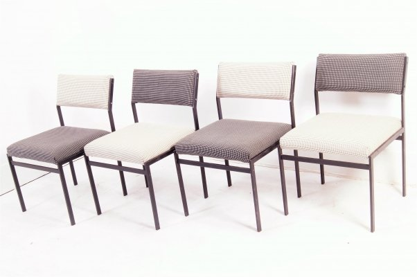 Set of 4 SM07 Japanese series dining chairs by Cees Braakman for Pastoe