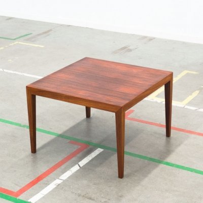 Coffee table by Severin Hansen Jr for Haslev Møbelsnedkeri, 1960s