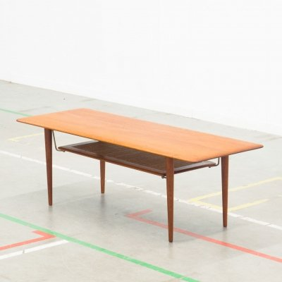 FD-516 coffee table by Peter Hvidt & Orla Mølgaard Nielsen for France & Son, 1950s