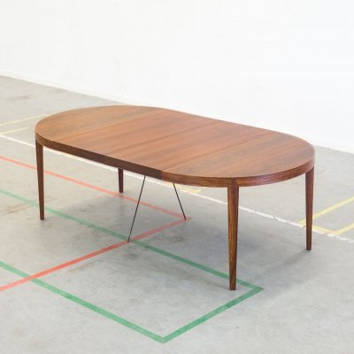 Dining table by Severin Hansen Jr for Haslev Møbelsnedkeri, 1960s