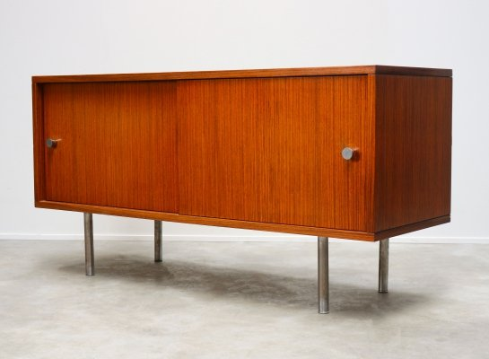 Rare Zebrawood sideboard by Alfred Hendrickx for Belform, 1950s