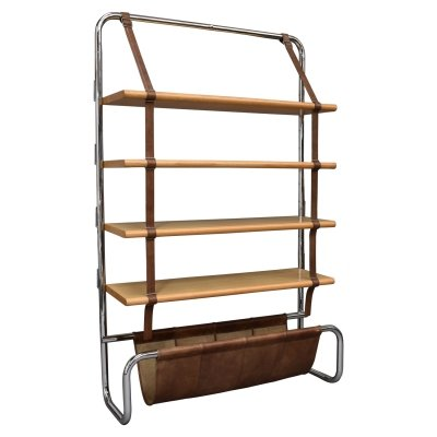 'Jumbo Line' bookcase by Luigi Massoni for Poltrona Frau, Italy 1971