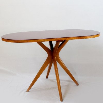 Italian Midcentury small board table or desk, 1950s