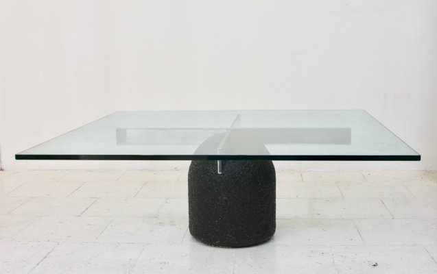 Paracarro coffee table by Giovanni Offredi for Saporiti