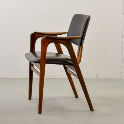 Dutch Design Side Chair by Cees Braakman for Pastoe, 1960s