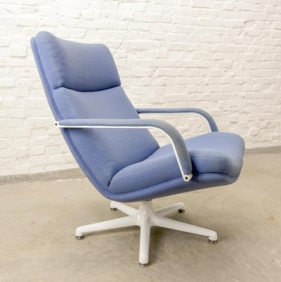 Dutch Design 'F141' Swivel Lounge Chair by Geoffrey Harcourt for Artifort, 1960s