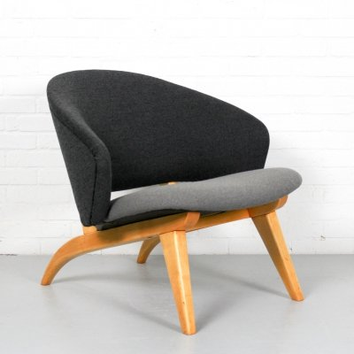 Rare 'congo' lounge chair by Theo Ruth for Artifort, 1950s