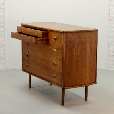 Dutch Design Teak Chest of Drawers by William Watting for Fristho, 1950s