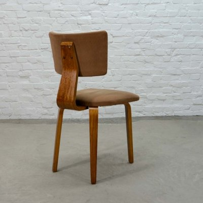 Mid Century Dutch Design Plywood Side Chair by Cor Alons for Den Boer, 1950s