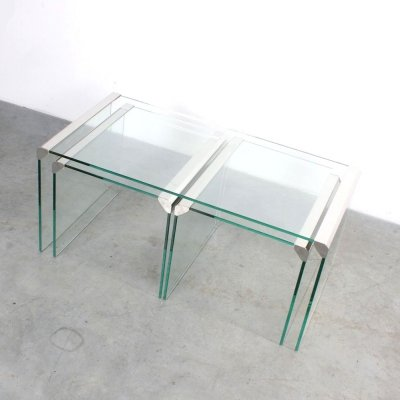 Nesting table by Pierangelo Gallotti & Gigi Radice for Gallotti & Radice, 1970s