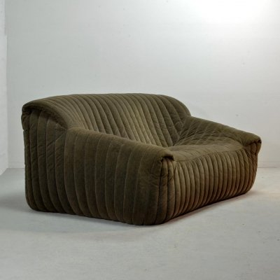 French Design Soft Sofa by Annie Hieronymus for Cinna 'Ligne Roset', 1960s