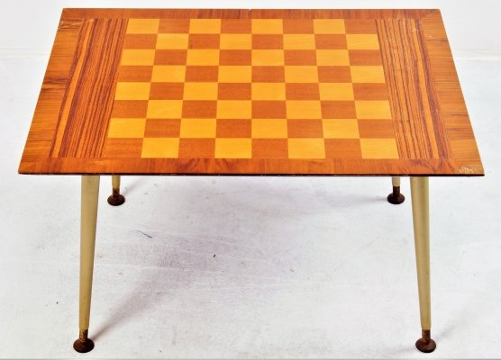 Low chess table, France 1960's
