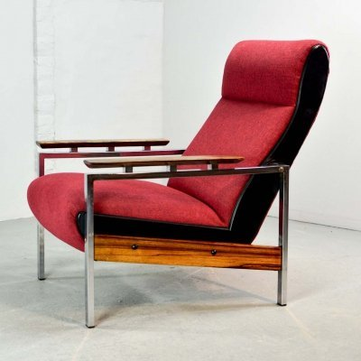 Mid Century Dutch Design Lounge Chair by Rob Parry for Gelderland, 1960s
