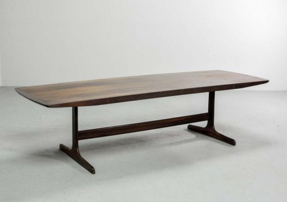 Mid Century Dutch Design Rosewood Coffee Table by Fristho for Topform, 1960s