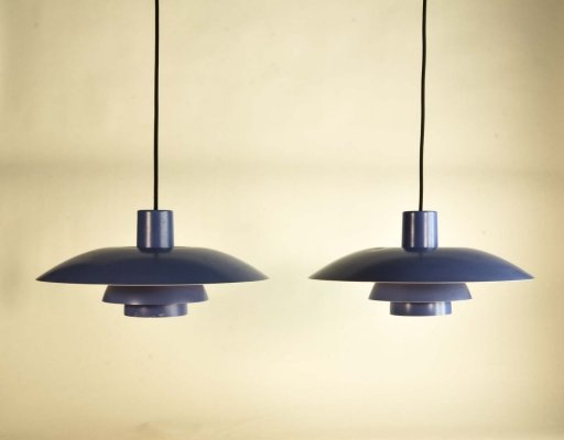 Pair of PH4/3 Pendants by Poul Henningsen for Louis Poulsen, 1960s