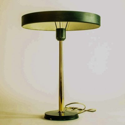 Mid Century Dutch Design 'Timor' Table Lamps by Louis Kalff for Philips, 1950s