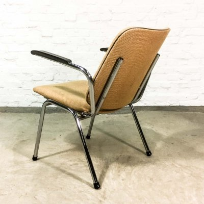 Mid century Dutch Design Gispen Lounge Chair by Martin de Wit, 1960s