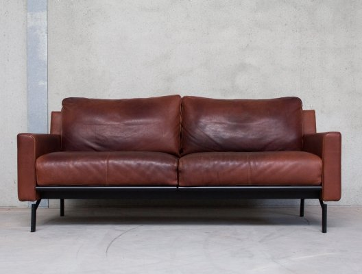 Brown Buffalo Leather Sofa by COR Germany