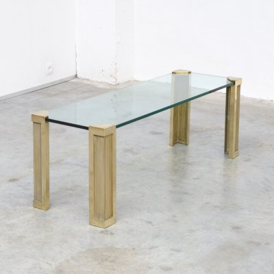 T14 Long Rectangular Coffee Table by Peter Ghyczy