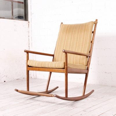 Vintage Rocking chair by Wilhelm Knoll, 1960s