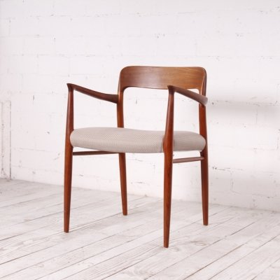Danish Teak Chair no 56 by Niels Otto Møller, 1960s