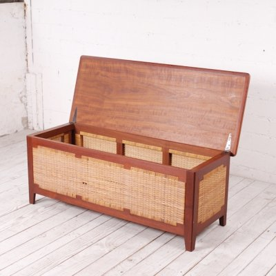 Danish Teak Laundry Box by Kaj Winding, 1960s