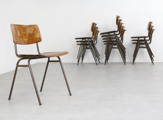 33 Industrial stacking chairs by Marko Holland, 1960s