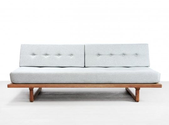 Oak 'Model 4312' daybed by Børge Mogensen for Fredericia, 1950s
