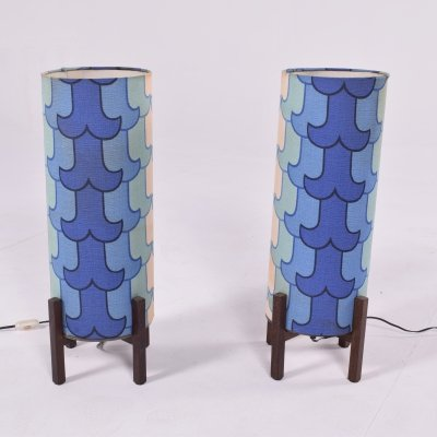 Pair of Mid Century French Table Lamps
