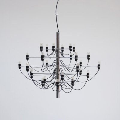 Gino Sarfatti Chandelier for Arteluce