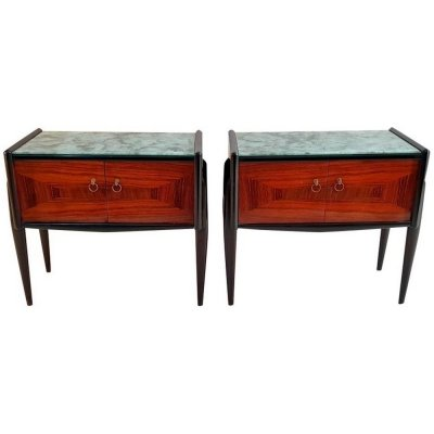 Mid-Century Modern Nightstands in Rosewood, Italy