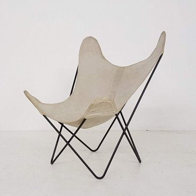 BKF lounge chair by Jorge Ferrari Hardoy for Knoll, 1960s