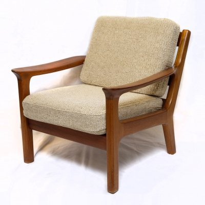 Danish Teak Lounge Chair by Juul Kristensen