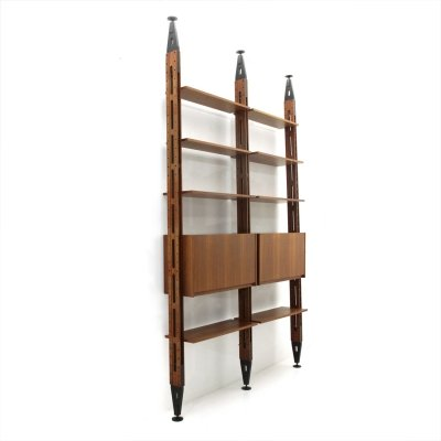 Midcentury 'Giraffa' bookcase by Paolo Tilche for Arform, 1960s