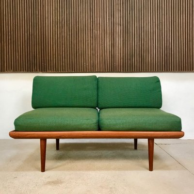 Danish 2-Seater Minerva Sofa in Teak by Hvidt & Mølgaard for France & Søn, 1960s