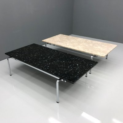 Granite or Marble Fk 91 Coffee Tables by Preben Fabricius & Jørgen Kastholm for Kill International, 1960s