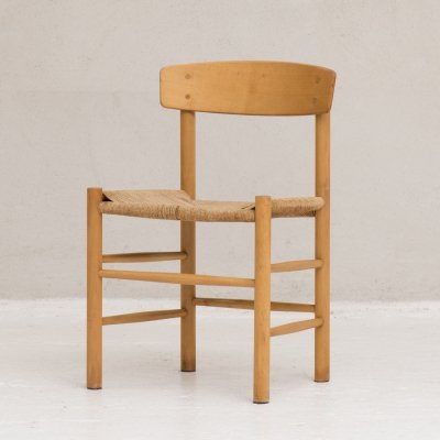 'The People's Chair' model J39 Dining chair by Børge Mogensen for FDB Møbler