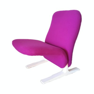 Low back Concorde F780 lounge chair by Pierre Paulin for Artifort, 1960s