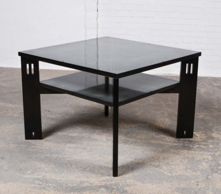Mid-Century Design Lacquered Coffee Table by Umberto Asnago for Giorgetti, 1970s